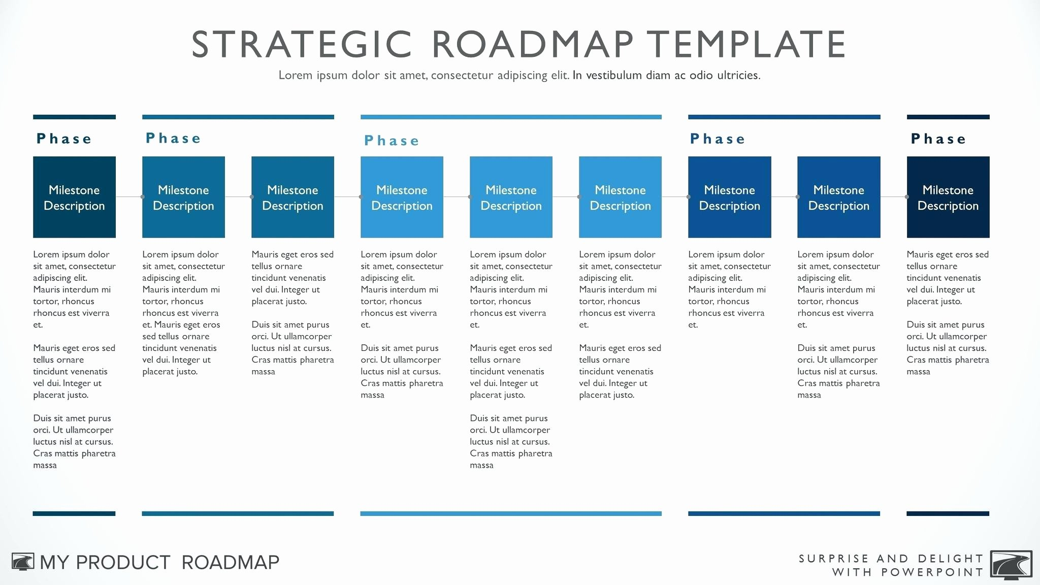School Strategic Plan Template Business Growth Examples