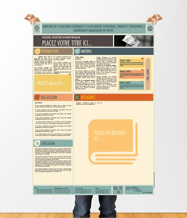 Scientific Poster Template Powerpointdèle Poster