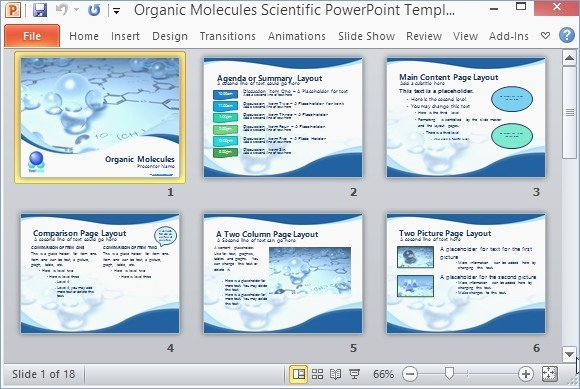 Scientific Presentation Powerpoint Example – Playitaway