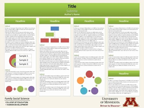 Scientific Research Poster Template Google Search