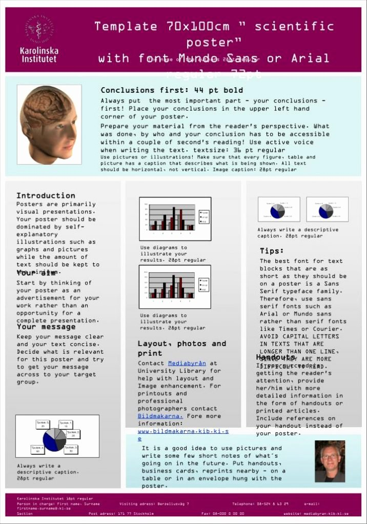 Scientific Research Poster Template Powerpoint