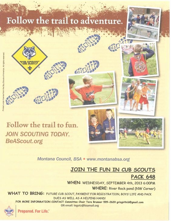 Scouts Flyers and Cubs On Pinterest