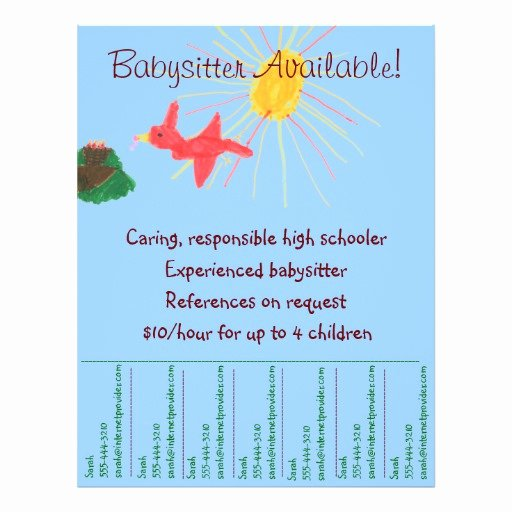 "Search Results for ""babysitting Flyer Templates"