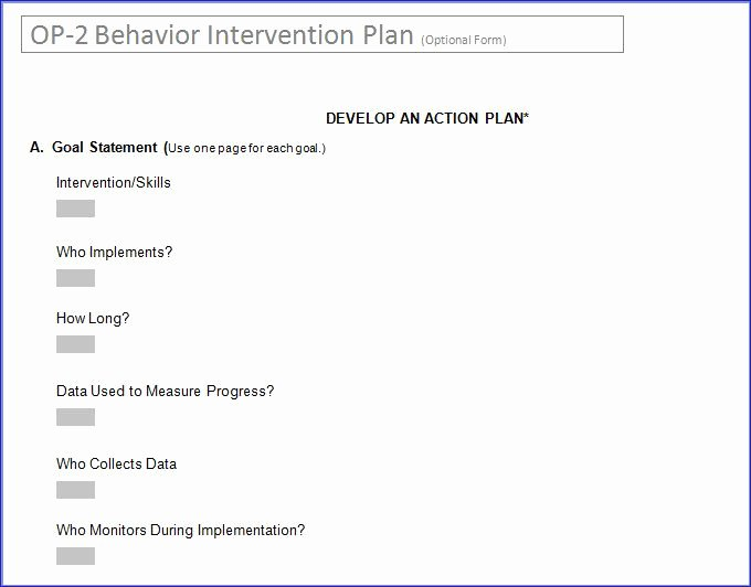 "Search Results for ""behavior Intervention Plan Template"