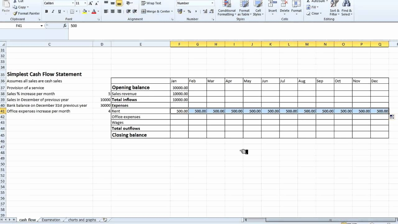 """Search Results for """"cash Flow Statement Excel Template"""