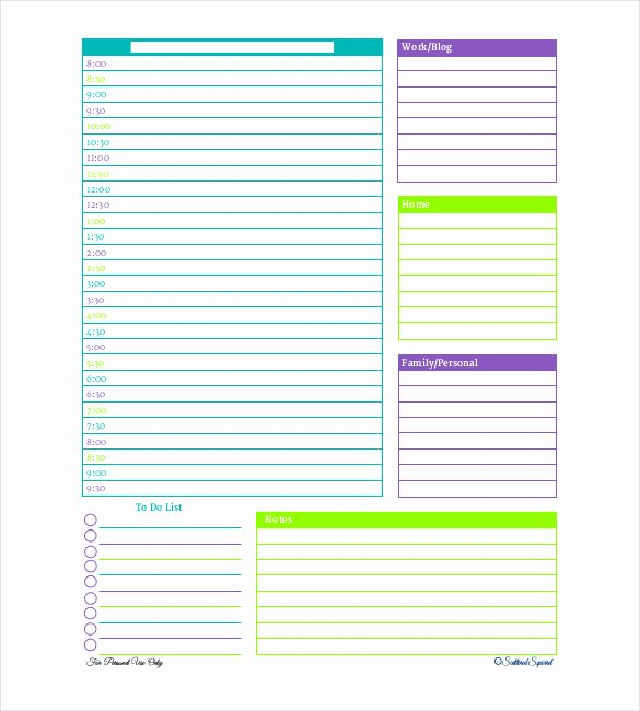 "Search Results for ""daily Schedule Template"" – Calendar 2015"