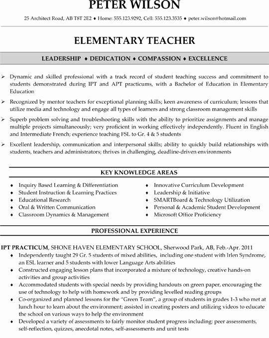 "Search Results for ""elementary Education Teacher Resume"