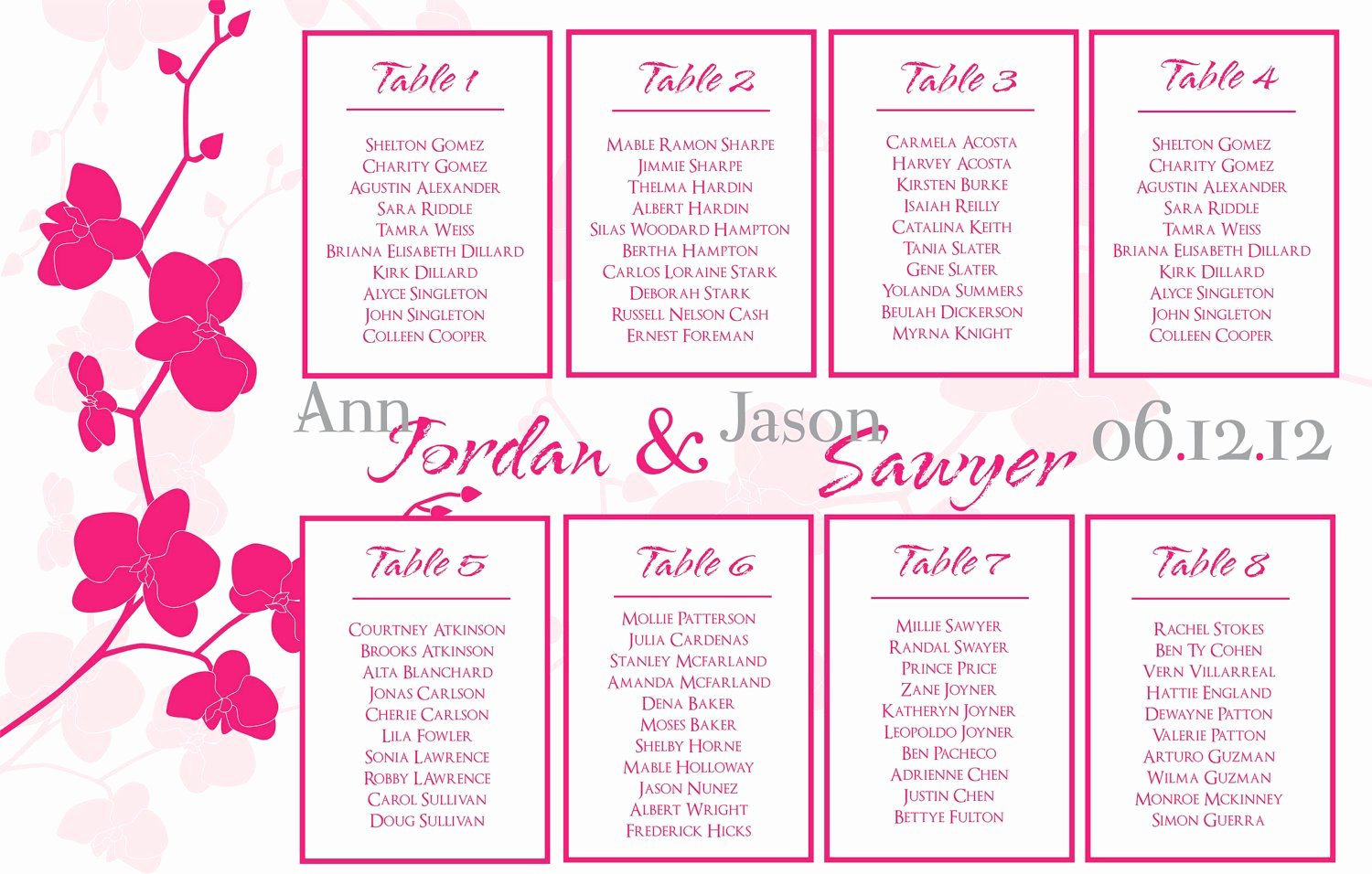 "Search Results for ""free Seating Chart Template Wedding"