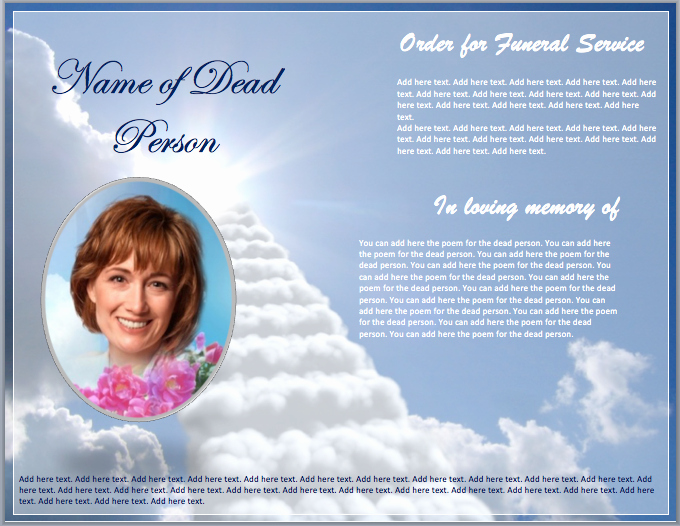 """Search Results for """"funeral Programs Templates"""" – Calendar"""