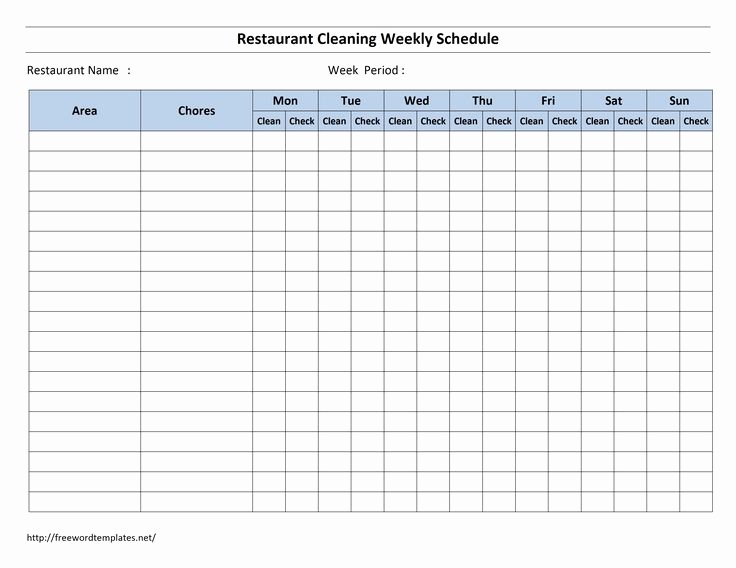 hourly bathroom checklist template