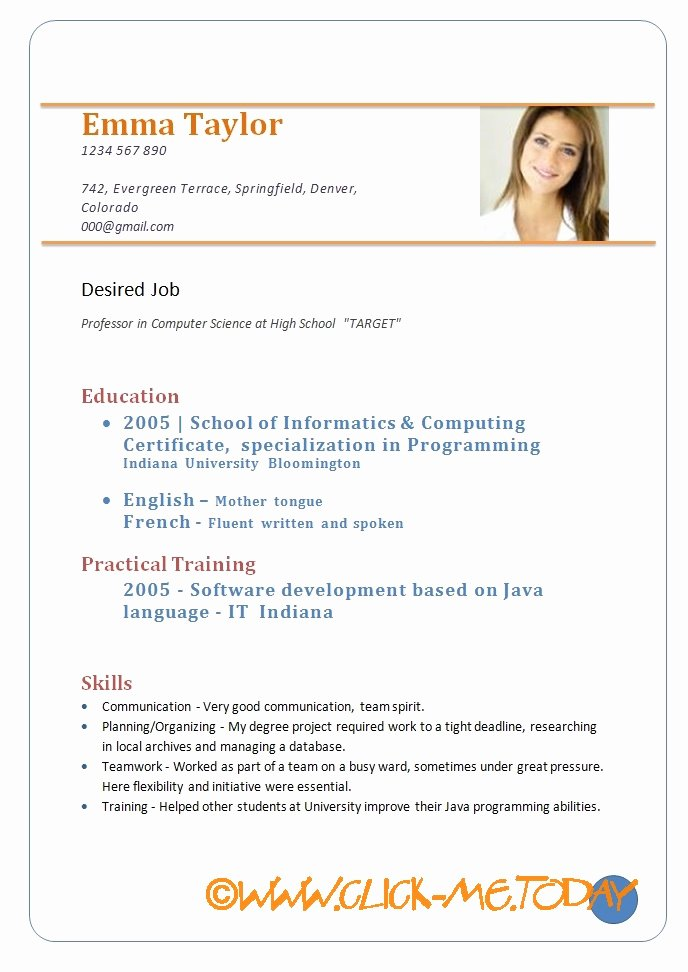 """Search Results for """"model Resume format"""" – Calendar 2015"""