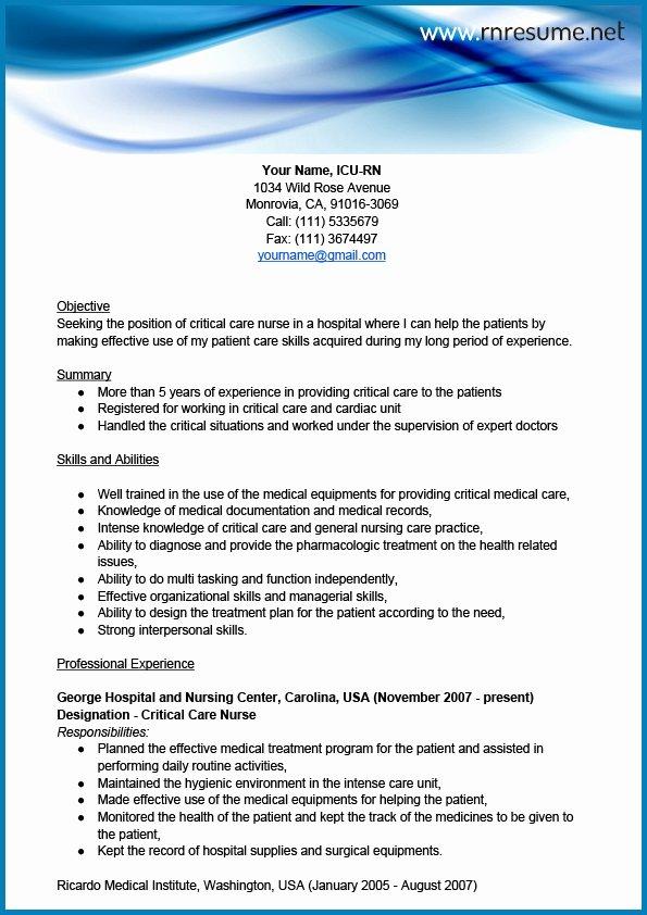 "Search Results for ""sample Nursing Resume"" – Calendar 2015"