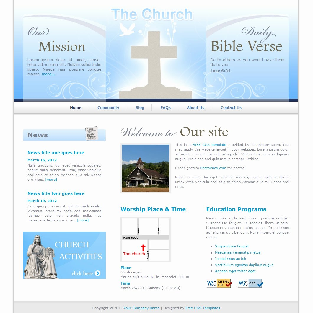 "Search Results for ""template for Church Program Free"
