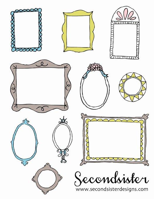 Secondsister Suaviloquy Free Sketchy Digital Frames
