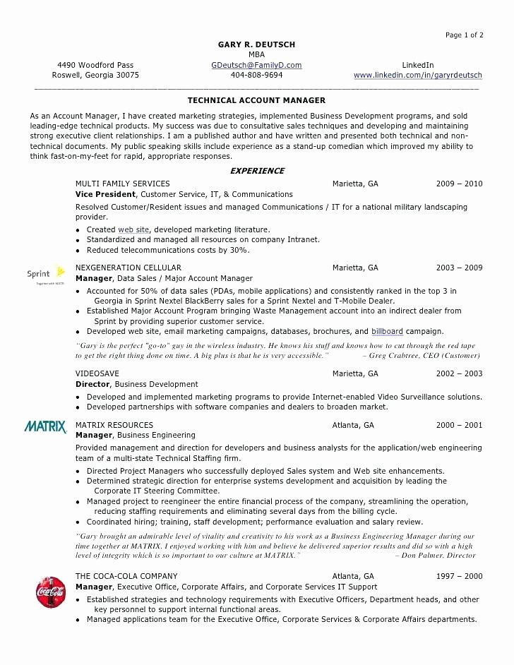 Senior Account Executive Advertising Resume Sample Global