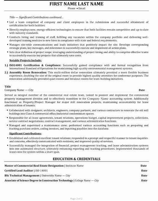 Senior Account Manager Resume Sample & Template