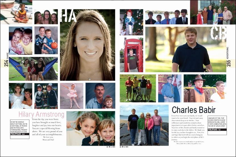 Senior Pages From William R Boone High School Yearbook