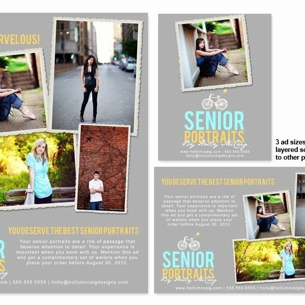 Senior Yearbook Ad Templates Free 2018