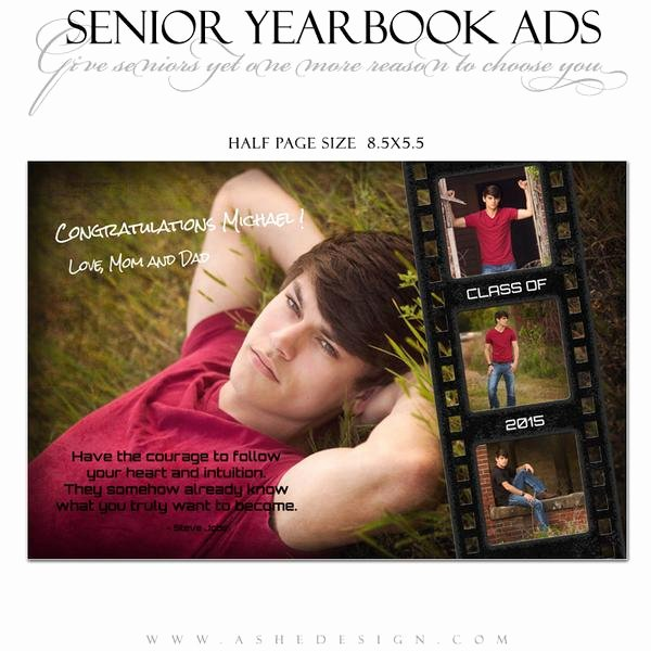 Senior Yearbook Ads for Shop