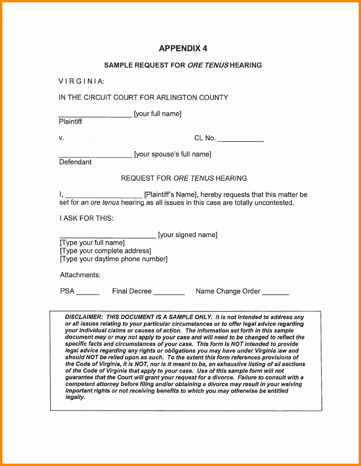 Separation Agreement Template Nc Awesome form Sample