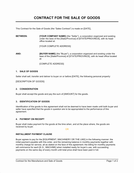 Service Agreement Template Doc