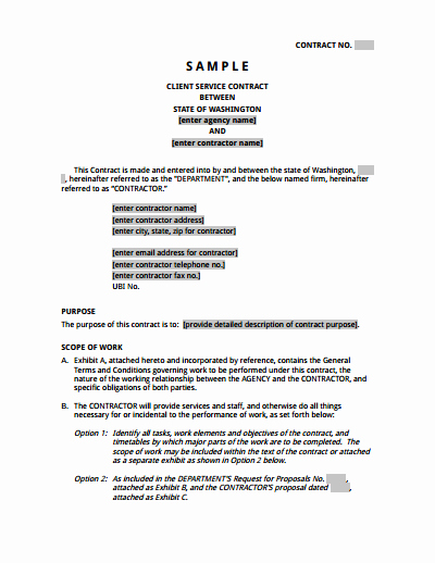 Service Agreement Template Free Download Create Edit