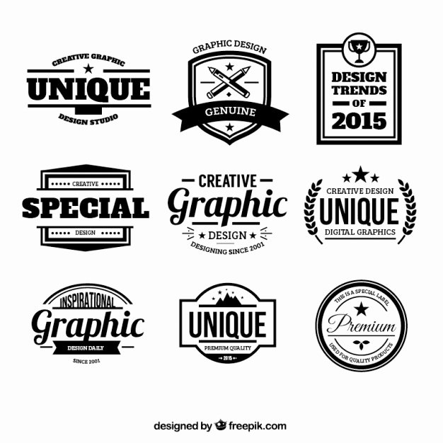Set 300 Free Logo Templates