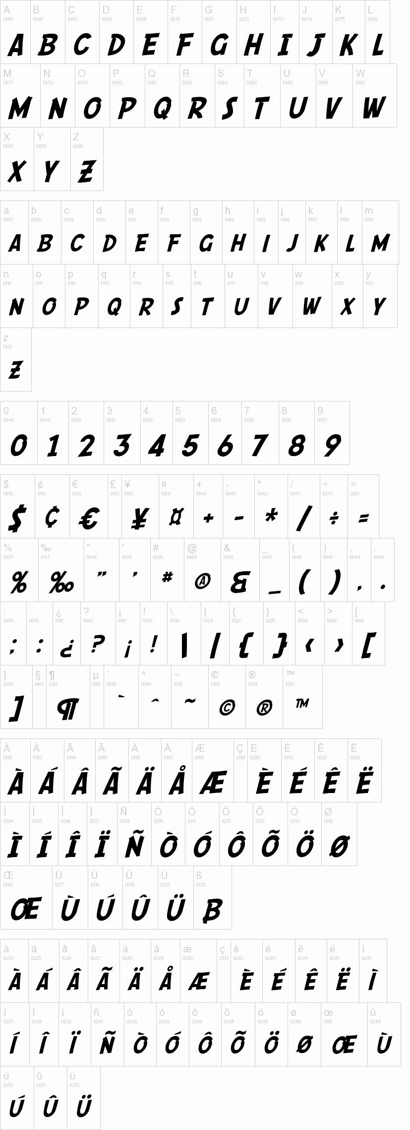 Sf Ic Script Free Ic Book Superhero Font