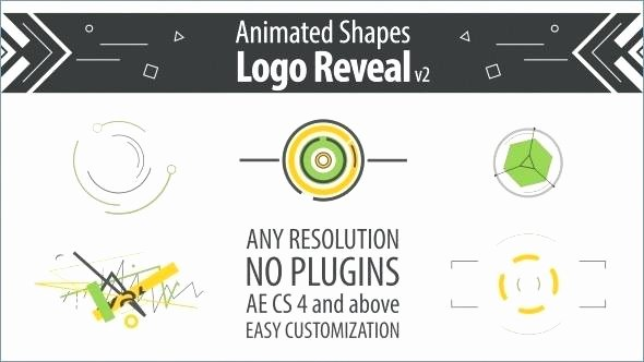 Shape Animation Logo Reveal Free after Effects Templates