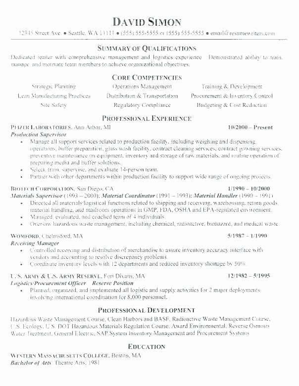 Shipping and Receiving Clerk Resume Cover Letter Examples