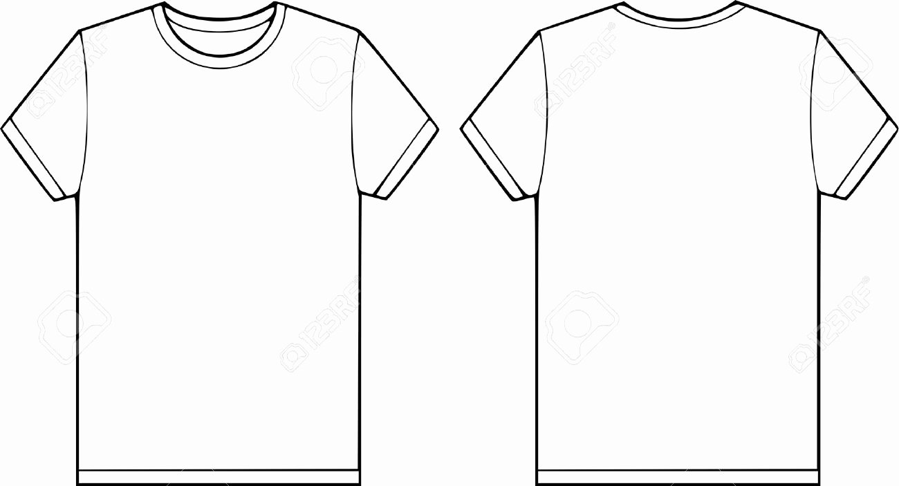 Shirt Clipart Blank T Shirt Pencil and In Color Shirt