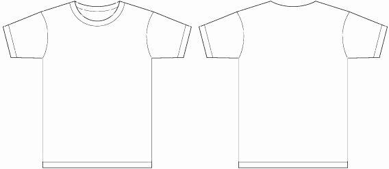 Shirt Template Adobe Illustrator Bbt