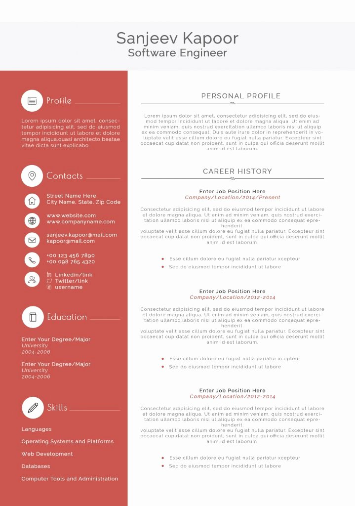 Shocking Latex Resume Template software Engineer Templates