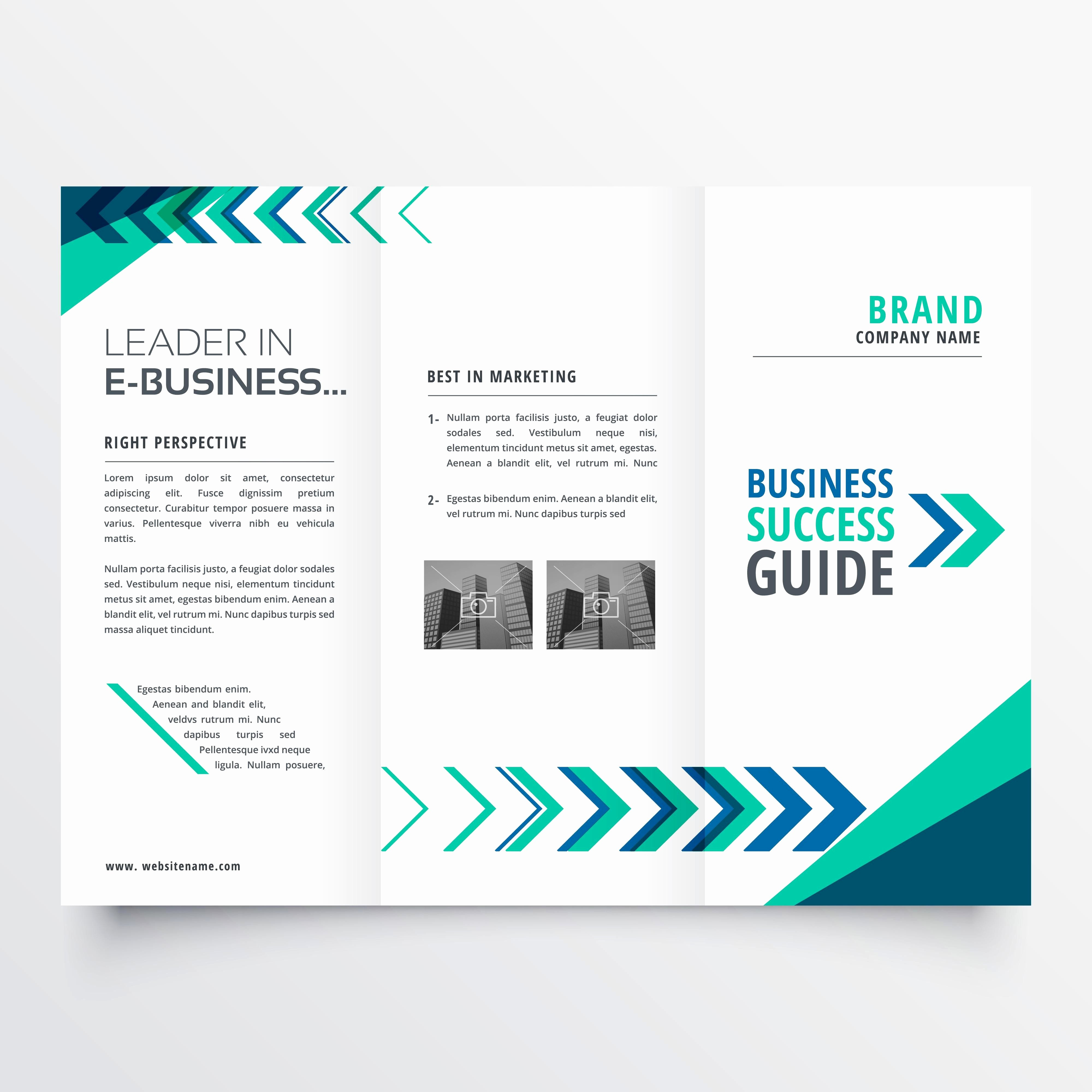 Shop Brochure Templates Free Download Creative New