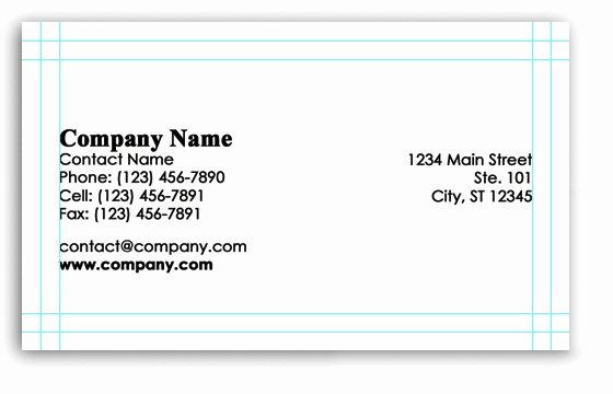 Shop Business Card Template