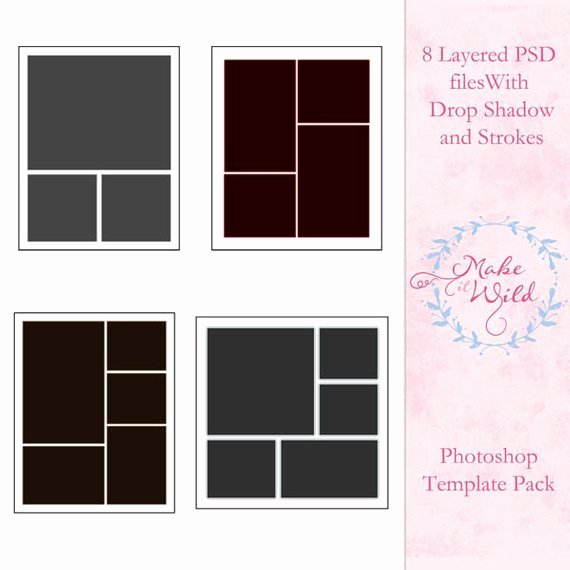 Shop Collage Template Pack Multi Size Templates
