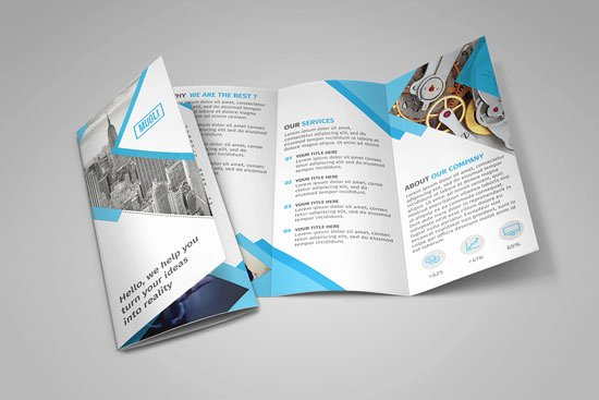 Shop Tri Fold Brochure Template Free Csoforumfo