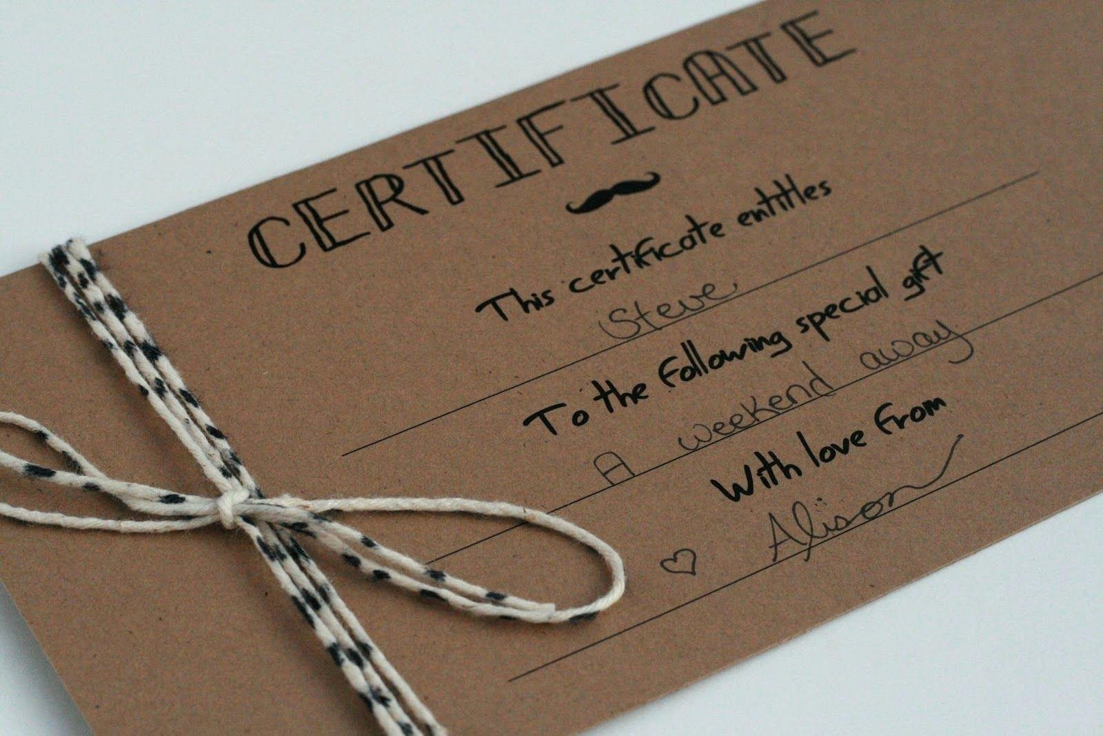 Shopping Gift Certificate Template Shopping Voucher