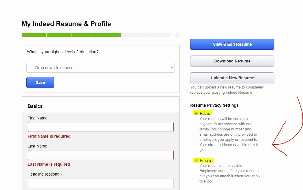 Should You Upload Your Resume On Sites Like Indeed Tips