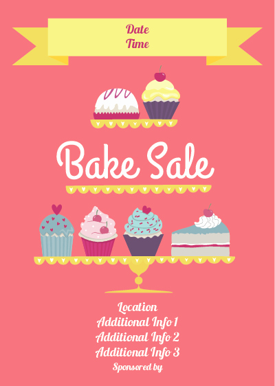Show Details for Bake Sale Poster 2