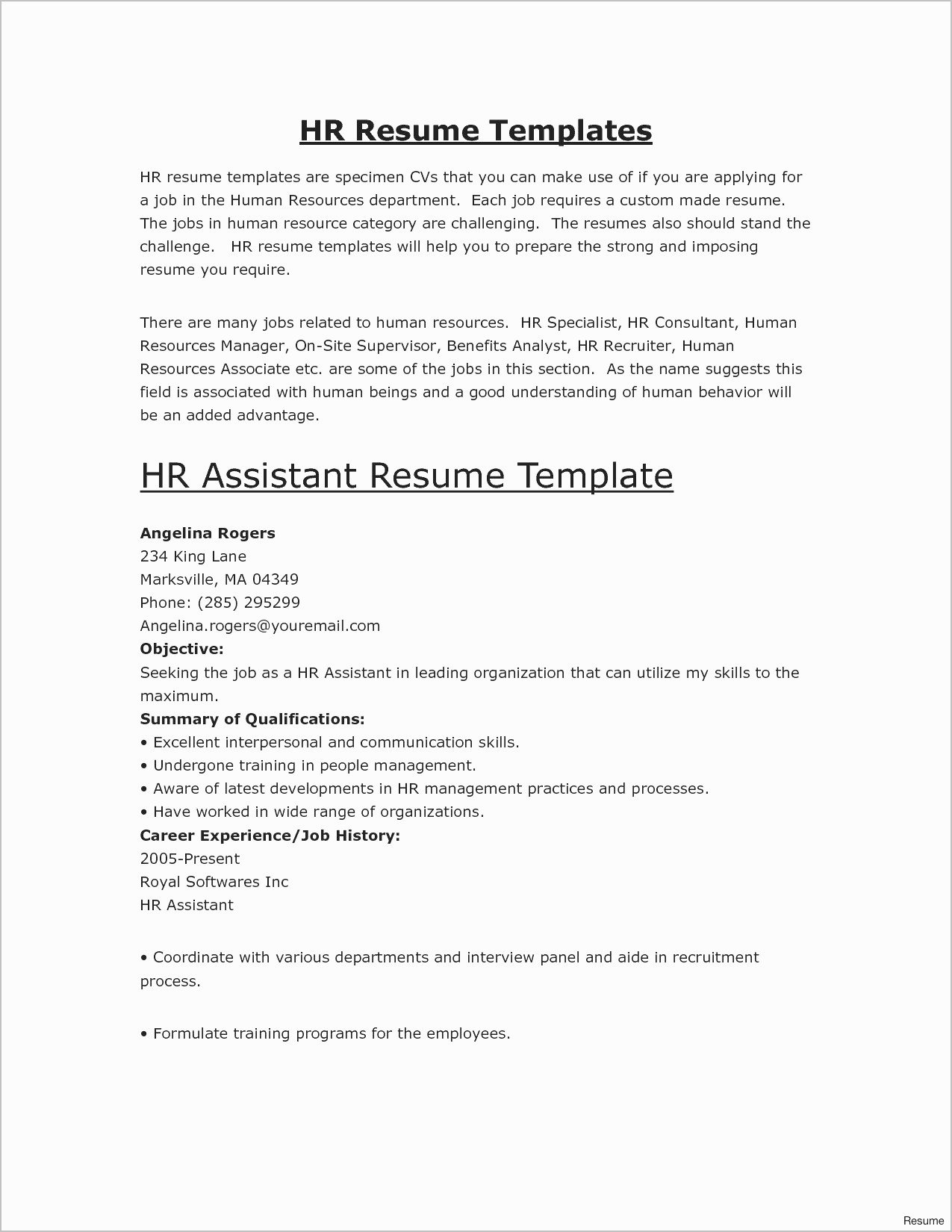 Show Me A Resume Example Nyustraus Exaple Resume