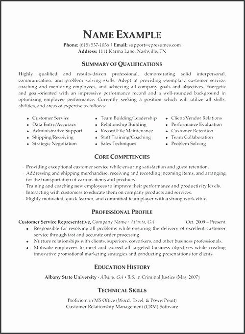 Show Me How To Write A Resume