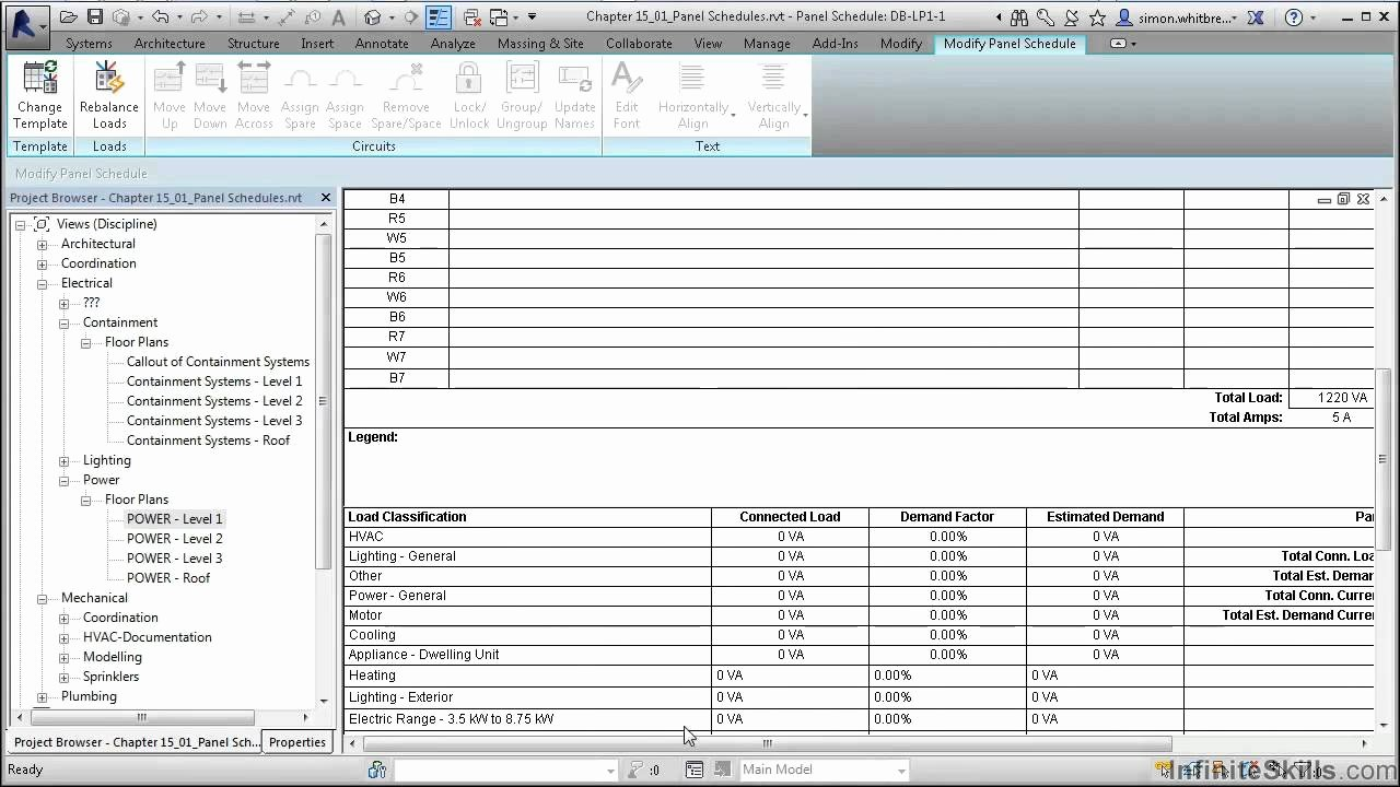 Siemens Panel Schedule Template thevillas