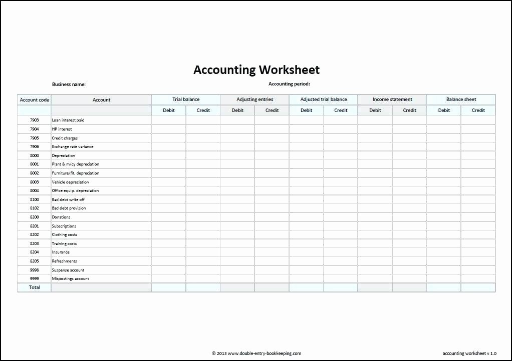 Simple Accounting Template Screenshot General Ledger Excel