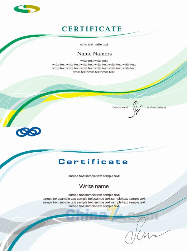 Simple Business Card Template Design Vector