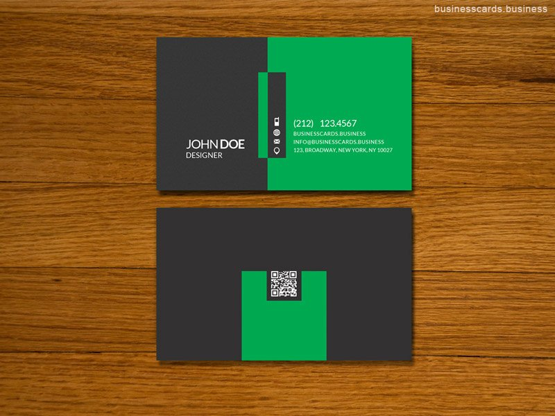 Simple Business Card Template for Shop Business