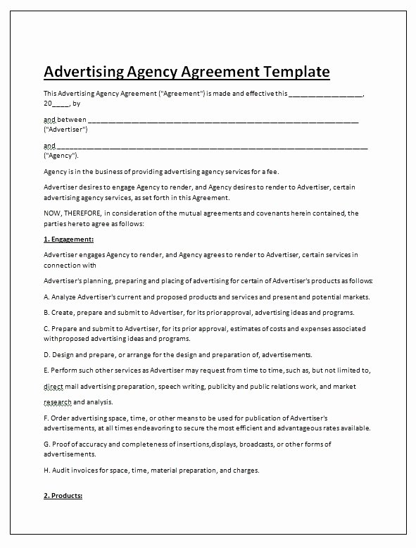 Simple Consulting Agreement Design Templates