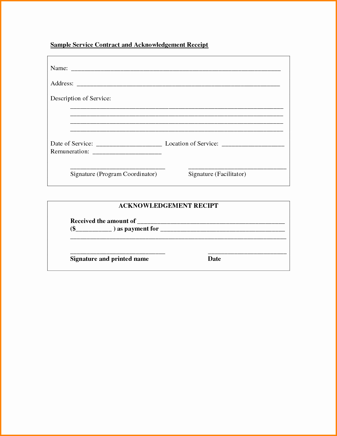 Simple Contract Template Word Portablegasgrillweber