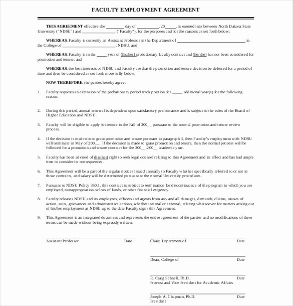 Simple Employment Agreement