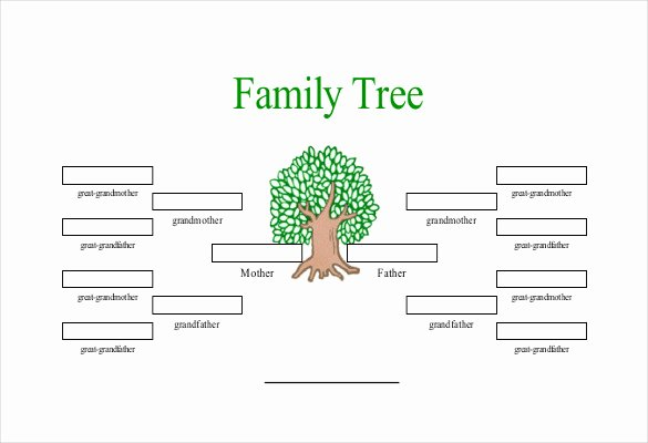 Simple Family Tree Template 25 Free Word Excel Pdf